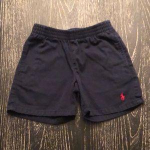 Polo Navy Blue Boys Shorts